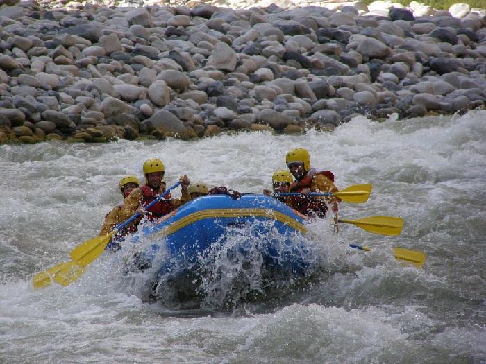 Rafting 1 dia